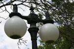 Depot in Kenyon, #7944 ornamental streetlight