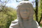 Mineral Springs Park, #7443 princess statue