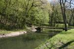 Mineral Springs Park, #7450 bridge overcreek