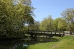Mineral Springs Park, #7465 bridge over MapleCreek