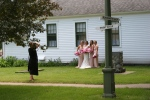Village of Yesteryear, #8551 photographing bride &attendants