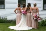Village of Yesteryear, #8556 backs of bridal party byschool