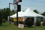 Fourth of July in Wisconsin, #8957 fireworks stand inMauston