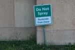 Garden, #9798 don't spraysign