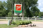 Rural MN, #9743 7UP & Channel Innsign