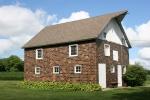 Rural MN, #9747 small brick barn nearWarsaw