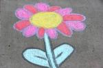 Chalk art, #502flower