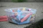 Chalk art, #504 chalk intub