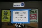 Face masks, #9903 freemasks