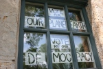 Message on house, #633 planet &democracy
