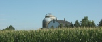 Montgomery, #9915 barn, silo,cornfield