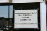 Montgomery, #9956 Jello shotssign