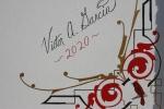 Mural, #9985 Victor A. Garcia signature onmural