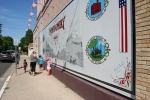 Mural, #9992 family viewing Montgomerymural
