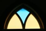 Tour, #672 stained glasswindow