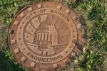 Atwood, #1042 manhole coverMadison