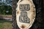 Bike trail, #984 you are lovedsign