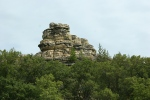 Drive to WI, #1199 rock formation inWI
