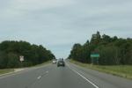 Drive to WI, #1200 Monroe County rockformation