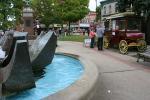 Jesse James Days, #1235 popcorn wagon in BridgeSquare