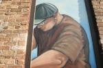 Kipp murals, #1031 close-uparm