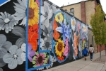 Northfield mural, #1222 mural & peoplewalking
