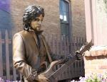Prince memorial, #953 close-up withguitar